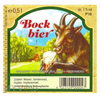 Fuchsbeck, Bock bier