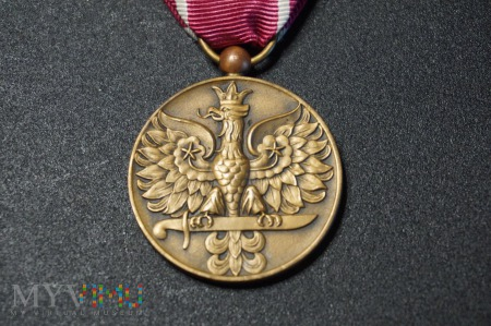 Medal Wojska PSZnZ - Arthus Bertrand - Francja