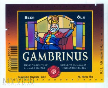Estonia, Gambrinus