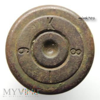 Łuska 10,75x58 R Berdan K 8 I 6