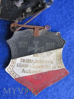 50 Jahr-Jubilaum plakietka okolicznościowa