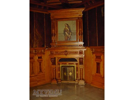 Mozaika Salviatiego w gabinecie Scheiblera.