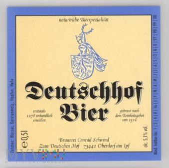 Deutschhof Bier