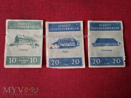 Spendenmarke des DJH
