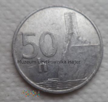 Duże zdjęcie Słowacja - 50 halerzy - 1993 rok