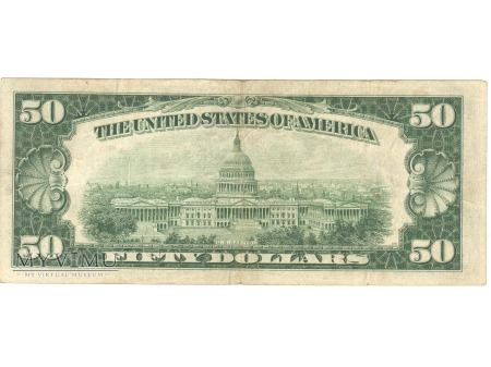 50 USD 1934 FEDERAL RESERVE NOTE