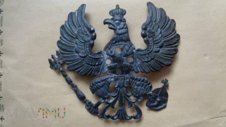 pruski orzeł Landwehry wz.1895 z pickelhaube