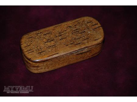 Pudełko z kory brzozowej