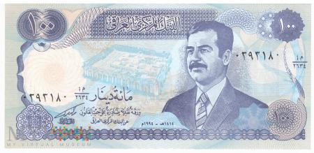 Irak - 100 dinarów (1994)