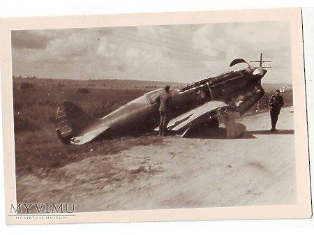 MiG-3 mijany przez wojsko niemieckie