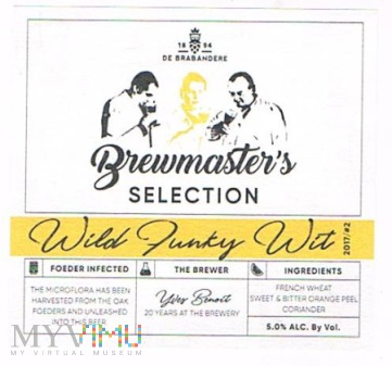 brewmaster's selection wild funky wit