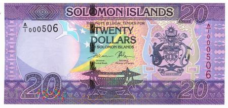 Wyspy Salomona - 20 dolarów (2017)
