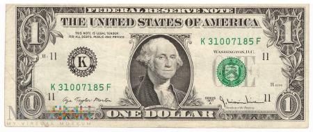 Stany Zjednoczone - 1 dolar (1977)
