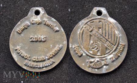 Medal sportowy Barcelona 2006
