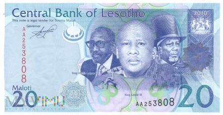 Lesotho - 20 maloti (2010)