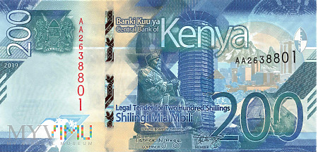 Duże zdjęcie Kenia - 200 szylingów (2019)