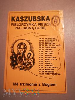 Kaszubska Pielgrzymka na Jasną Górę