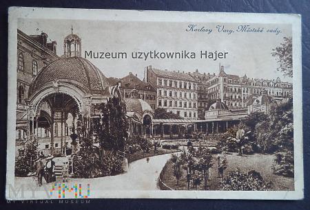 Czechosłowacja - Karlovy Vary Městské sady