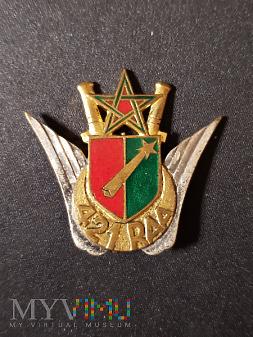 Odznaka 421-go Pułku Artylerii Przeciwlotniczej