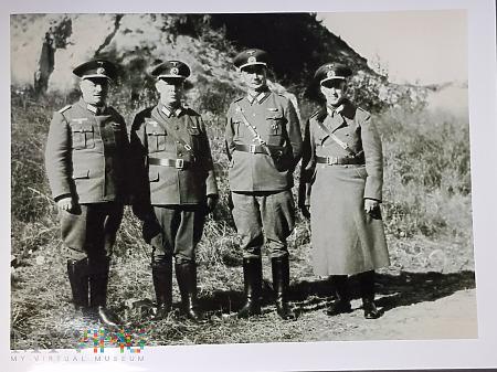 Niemcy - Fotografie z albumu - Oficerowie