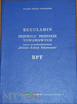 Hx-1986 Regulamin przewozu przesyłek towarowych