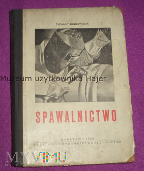 Spawalnictwo - Dobrowolski - 1953 rok