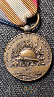 Medal de l'Union Nationale des Combattants_Francja