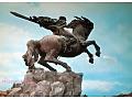 Armenia Erywań pomnik Dawida z Sassoun '76