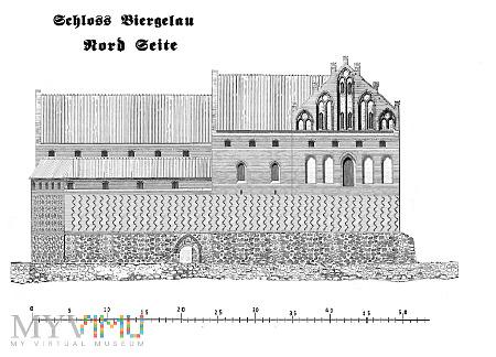 Pierwsze murowane zamki konwentualne. Bierzgłowo