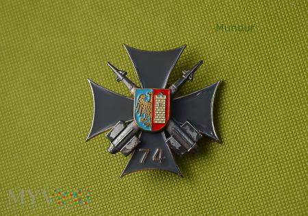 Odznaka 74 dywizjonu rakietowego OP