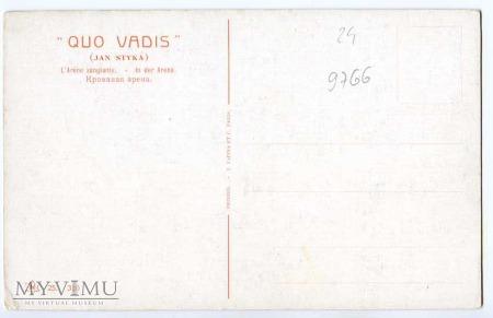 Quo Vadis - Pobojowisko - Styka