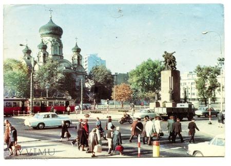 Duże zdjęcie Pomnik Braterstwa Broni a. pol. i Radzieckiej W-wa