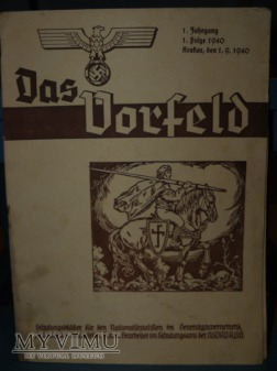 Niemieckie gazety 1939-1940- 3 sztuki
