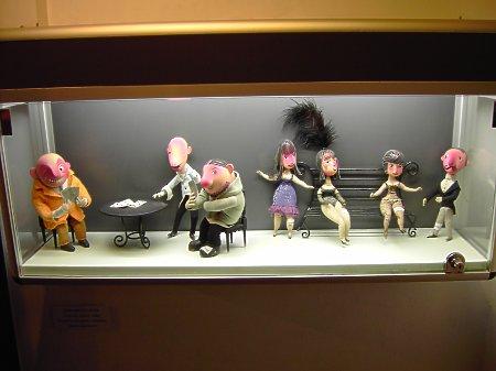 Lalki z filmu Człowiek i Anioł