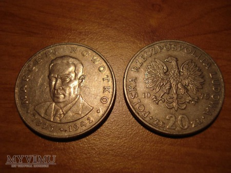 20 ZŁ 2 monety