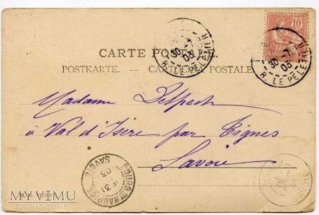 Pocztówka okolicznościowa 1903