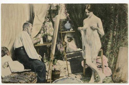 W atelier malarza