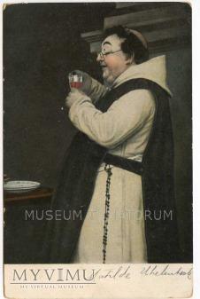 Monk Friar Mönch capucin zakonnik - degustacja 7