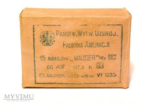 Amunicja 7,92mm z pociskami typu SC