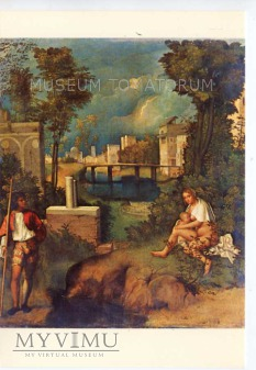 Giorgione - Macierzyństwo klasyczne