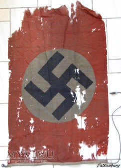 Duże zdjęcie Flaga Rzeszy Niemieckiej 1935-1945