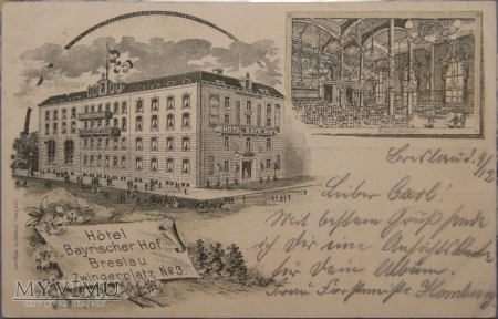 Wrocław - Breslau 1898 r.