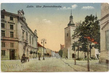 Duże zdjęcie Lublin - początek XX wieku - ul. Namiestnikowska