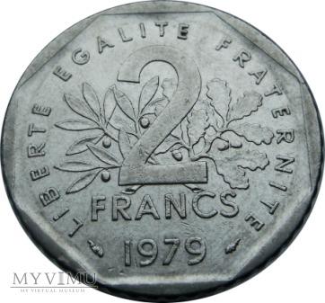 2 Francs, 1979 rok.