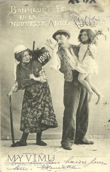 Nowy Rok - 1905