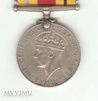 India Service Medal 1939-1945