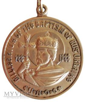 Millenium chrztu Rusi-Ukrainy medal 1988