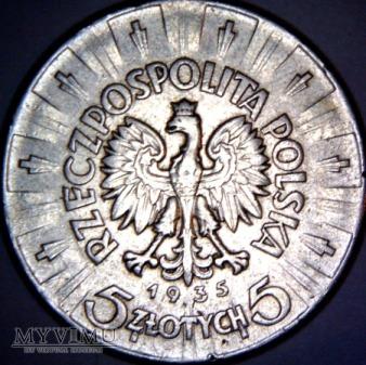 5zł 1935r - II Rzeczpospolita Polska