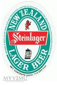 steinlager - new zealand lager beer