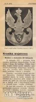 Żołnierz Polski - 29 listopada 1921.